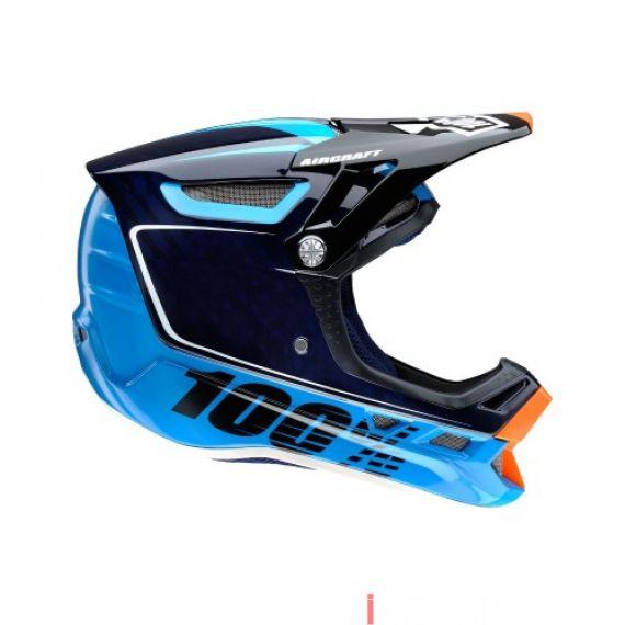 100% - AIRCRAFT - BI-TURBO BLUE Size L