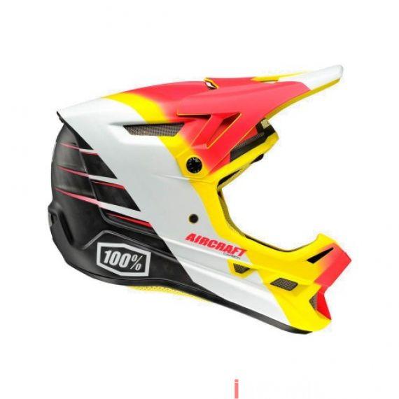 100% - AIRCRAFT - R9 FIRE (MIPS) Size XXL