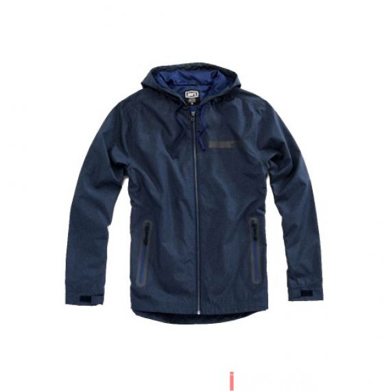 100% - FLEECE - STORBI LIGHTWEIGHT JACKET - NAVY Size M