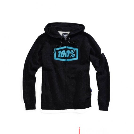 100% - FLEECE - SYNDICATE ZIP HOODED SWEATSHIRT - HYPERLOOP Size S