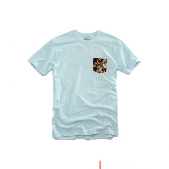 100% - SHIRT - CHAPTER 11 TSHIRT ICE BLUE Size L