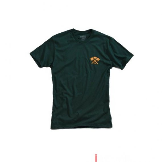 100% - SHIRT - VICTORY TSHIRT FORREST GREEN Size S