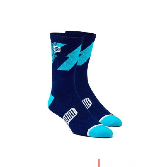100% - SOCKS - BOLT PERFORMANCE SOCKS - NAVY Size 38