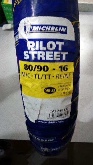 Michelin Pilot Street  80/90 -16 PROMOTION