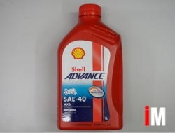SHELL ADVANCE SAE 40 AX3