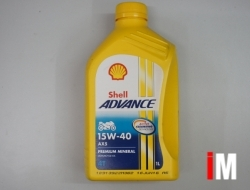SHELL ADVANCE 4T AX5 OIL 15W-40