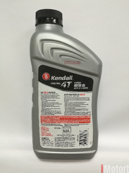 Kendall 4T 10W-30 Motorbike Engine Oil Lubricant