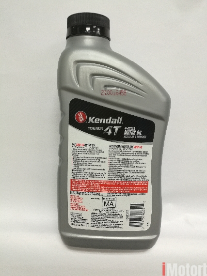 Kendall 4T 20W-50 Motorbike Engine Oil Lubricant