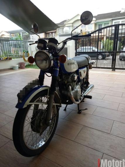 Honda cb175 classic