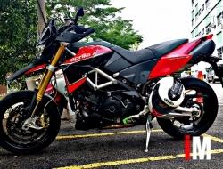 2013 aprilia dorsoduro 1200 ABS & TC