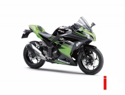 Kawasaki Ninja 250 2016 Free Single Seat !!