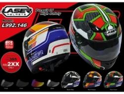 Laser Full Face Motorcycle Helmet - L992.146