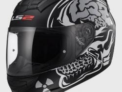 LS2 Full Face Helmet FF352 X Ray - Matt Black