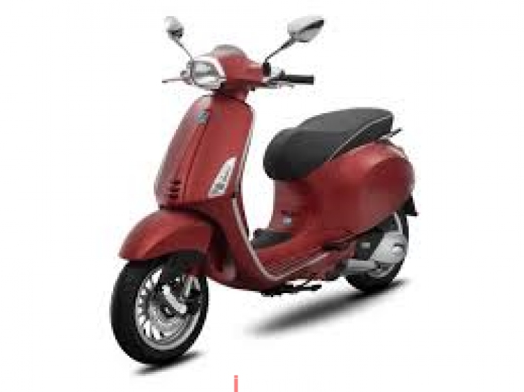vespa piaggio vespa sprint abs - matt red | new motorcycles