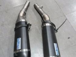 Leovine Slip-on Full Carbon KAWASAKI Z1000 2012