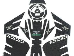 KAWASAKI Z1000 14-16 KSHARP CARBON 3D TANK PAD
