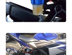 YAMAHA R25 R3 CNC REAR BRAKE RESERVOIR CAP