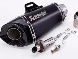 Akrapovic Shorty Exhaust Muffler