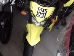 Kawasaki KSR110 Yellow
