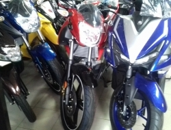 Yamaha FZ150i (Red)