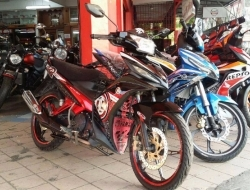 Yamaha 135LC ES Clucth 5 speed