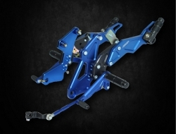 YAMAHA Y15ZR FOOT REST RACING (DOUBLE) - BLUE