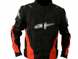 Alphinestars Jacket AL-010 (Hump version new model) with FULL PADDING (Ori) - Size L