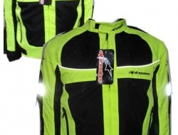Alphinestars Ridding Safety Jacket with Full Padding (lengan,bahu,belakang 5 pcs) - Size XXL