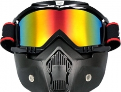 Antman helmet Riding Mask (ori) - rainbow
