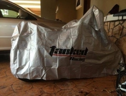 Motorcycle Rain / Sunlight Protection Cover Size L