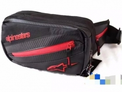 AStar Pouch Bag (Black/Red)