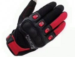 Taichi Gloves RST412 (Black/Red)   Size L
