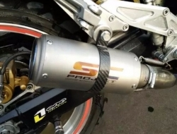 Laser Painted Sc Project 51mm/61mm Exhaust Muffler