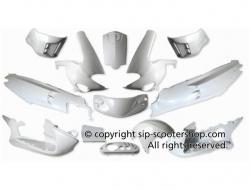 Body Kit Style Pro EVO for Gilera VXR & SP (White Brilliant)