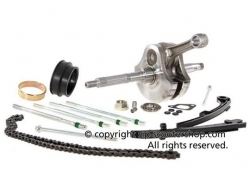 Crankshaft Kit Kubler 269/244cc for Gilera VXR, RST, ST & Aprilia Sportcity