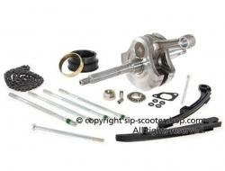 Cylinder Kit Kubler 258cc for Gilera VXR, RST, ST & Aprilia Sportcity