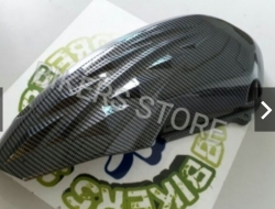 Yamaha NVX Upper Engine Cover (Carbon)