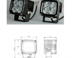 40w CREE USA Work Lights