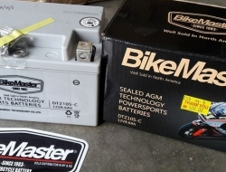 Bikemaster AGM motorcycle battery DTZ10S-C