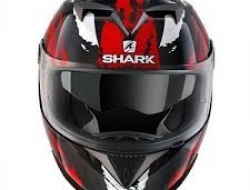 Shark S700 Fullface Helmet (Black/Red) - Size XS