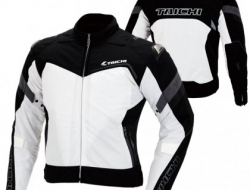 RS Taichi RSJ309 Air Track Jacket (Black/White) Size XS