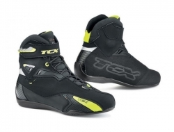 TCX 9505W Rush Waterproof Boots (Black/Yellow) Size 35
