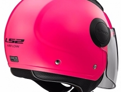 LS2 OF562 AIRFLOW GLOSS PINK Motorcycle Helmet