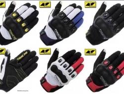 HAND GLOVE TAICHI RS412 TOUCH SCREEN (White/Black) - Size M