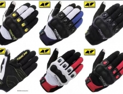 HAND GLOVE TAICHI RS412 TOUCH SCREEN (White/Black) - Size L