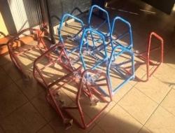 Paddock Stand Mini Bike Underbone below 200cc (Red)