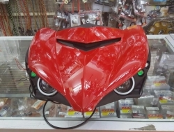 Front Panel Projector Yamaha Y15ZR / MX King / Sniper 150 (Red)