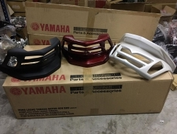 TAIL LAMP COVER GRILL YAMAHA N-MAX 155 (Red)