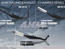 AHM 2-STROKE CHAMBER - TXR [BLACK]
