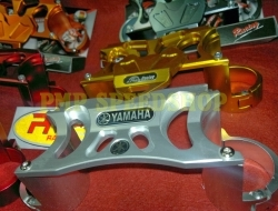 Fork Stabilizer For Yamaha LC135 / Crypton X / Jupiter MX / Spark 135 / Sniper (Silver)